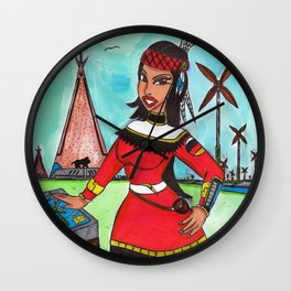 Windjammer Wall Clock