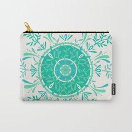 Leaflets – Mint Ombré Palette Carry-All Pouch