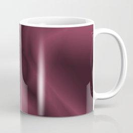 Burgundy silk Coffee Mug