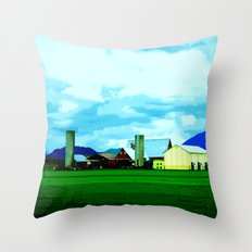 All At Once We Had It In For The Sky Throw Pillow