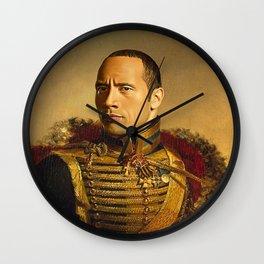 Dwayne Johnson Wall Clock