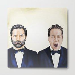Adam and Joe Metal Print