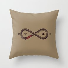 Infinity Blade Throw Pillow