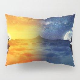 day vs night Pillow Sham