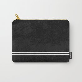 Infinite Road - Black And White Abstract Carry-All Pouch