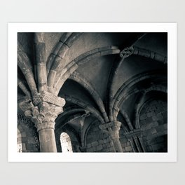 Arched Ceiling Art Print
