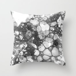Ink Bubbles, II Throw Pillow
