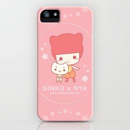 Sweet happy cats iPhone Case