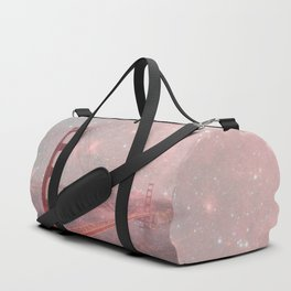 Stardust Covering San Francisco Duffle Bag