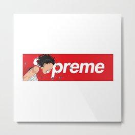 Supreme Akira Logo Metal Print