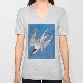 Roseate Tern Bird Unisex V-Neck