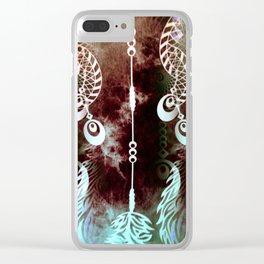 Hidden Dreams Clear iPhone Case