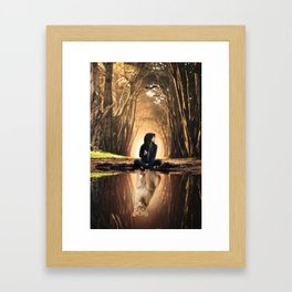 The Lion Spirit Animal by GEN Z Framed Art Print