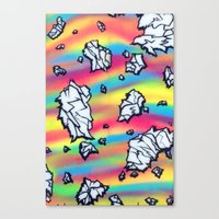 breaking Canvas Prints featuring Breaking by Taylor deVille
