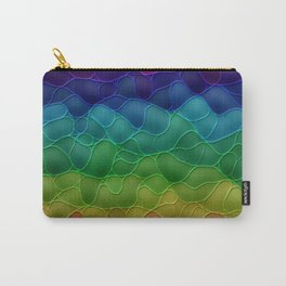Rainbow abstraction Carry-All Pouch