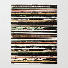 Recordsss Canvas Print