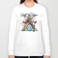 monster hunter Long Sleeve T-shirts featuring Monster Hunter II by Egregore Design