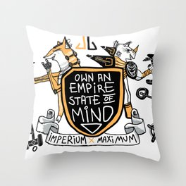 Imperial Mindset Throw Pillow