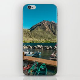 Convict Lake and Mt. Morrison iPhone Skin