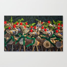 Red Noses. Canvas Print