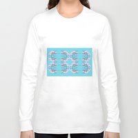 orchid Long Sleeve T-shirts featuring Orchid by Nahal