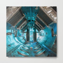 244. Journey to Space in a Vacuum Chamber Metal Print