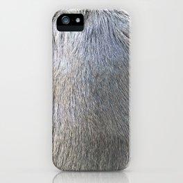 Rabbit Fur iPhone Case