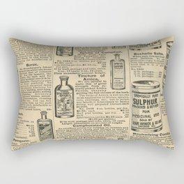 Vintage Catalogue Rectangular Pillow
