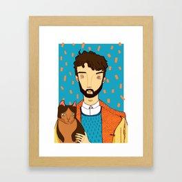 THE FURRIES #08 Framed Art Print