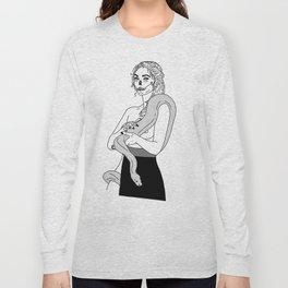 Serpent Skin Long Sleeve T-shirt
