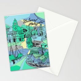 Malacca, Malaysia Heritage Stationery Cards