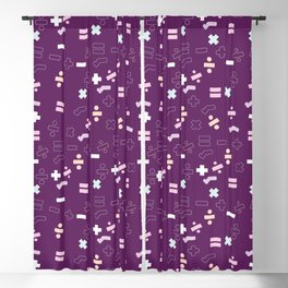 Maths Symbols Blackout Curtain