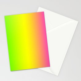 Happy Mood Blurred Colors Stationery Cards