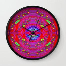 Happy hole ... Wall Clock