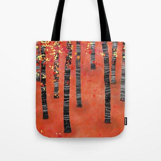 Birches Tote Bag