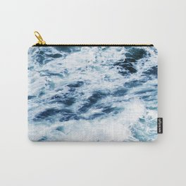 Ocean Waves: A Power Greater Than Me Carry-All Pouch