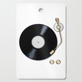 Record Deck Cutting Board