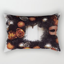 Halloween Wreath Rectangular Pillow