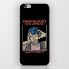 Ferris Bueller's Head Comes Off iPhone Skin