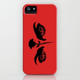 Love Hurts (red) iPhone Case