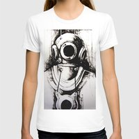"diver T-shirts featuring ""Diver"" by Scott Lenaway"