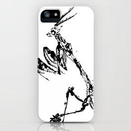Violin Mantis iPhone Case
