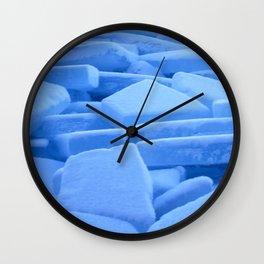 Ice floe Wall Clock