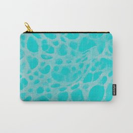 Pattern SPOTS Blue Carry-All Pouch