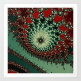Peppery Stuff - fractal art Art Print