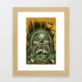 Doom Poster Framed Art Print