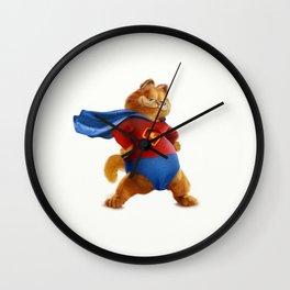 Superhero Garfield Wall Clock