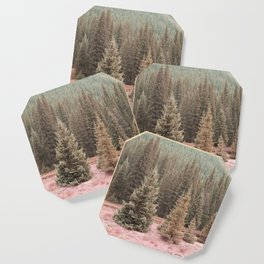 Look For Me In The Trees Coaster
