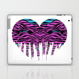 Stripes heart two Laptop & iPad Skin