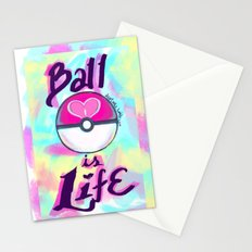 Pokeball is Life Stationery Cards